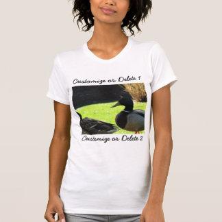 Mallards in the Grass; Customizable T-shirts