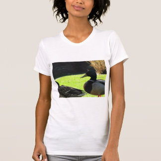 Mallards in the Grass T-shirts