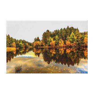 Mallards Pike Lake Canvas Print