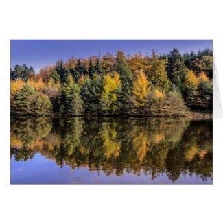 Mallards Pike Lake Card