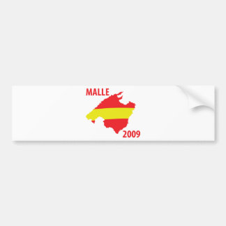 malle contour 2009 icon bumper sticker