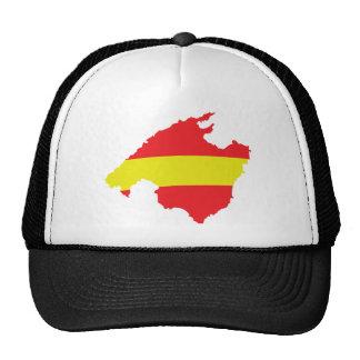 malle flag contour icon mesh hats