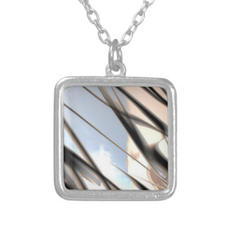 Malleable Metal Pattern Necklace