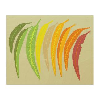 Mallee eucalyptus leaf wall art
