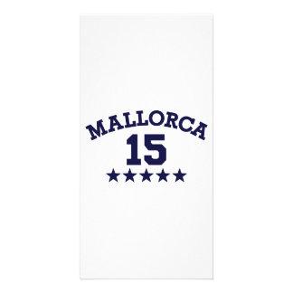 Mallorca 2015 personalized photo card