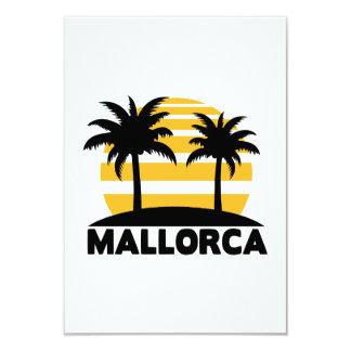 Mallorca 9 Cm X 13 Cm Invitation Card