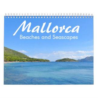 Mallorca, Beaches and Seascapes - Calendar 2017