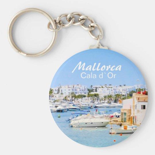 Mallorca Cala d`Or Souvenir Keychain