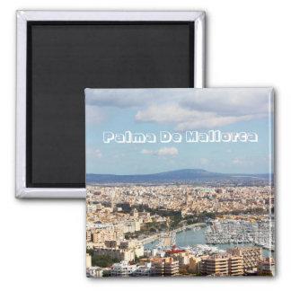 Mallorca cityscape fridge magnet