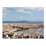 Mallorca cityscape postcards