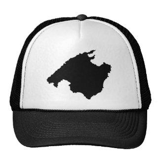 mallorca contour icon trucker hat