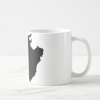 mallorca contour icon coffee mugs