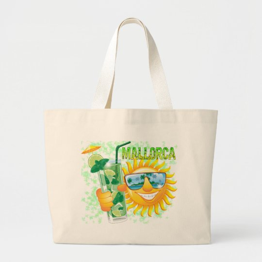 Mallorca Large Tote Bag