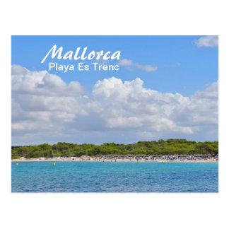 Mallorca, Playa Es Trenc - Postcard