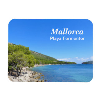 Mallorca, Playa Formentor - Souvenir Magnet Vinyl Magnet