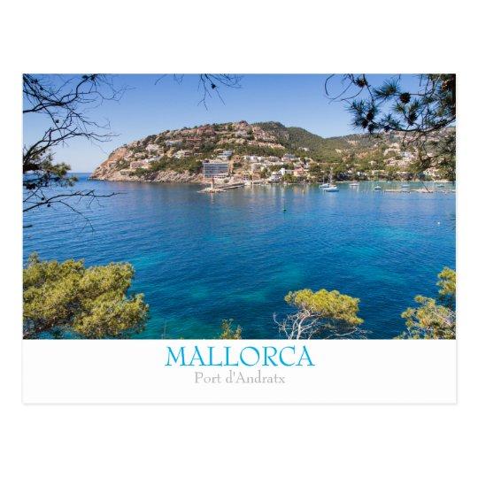Mallorca - Port Andratx postcard with text
