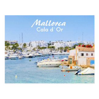 Mallorca Port of Cala d`Or Postcard