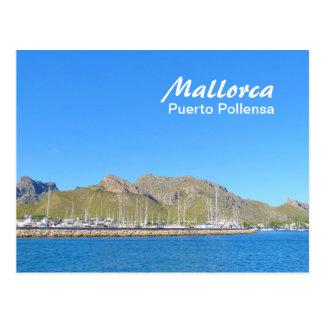 Mallorca, Puerto Pollensa - Postcard