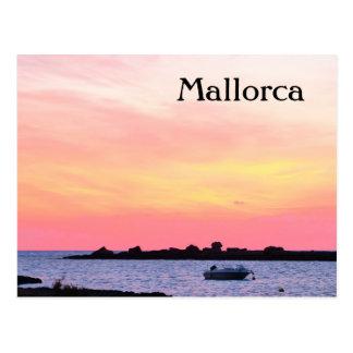 Mallorca Romantic Sunset - Postcard