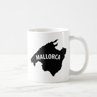 mallorca spain contour icon coffee mug