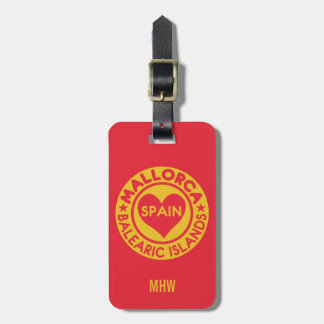 MALLORCA Spain custom luggage tag