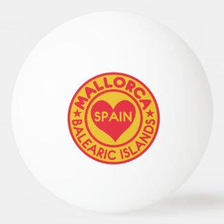MALLORCA Spain custom monogram ping pong ball