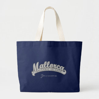 MALLORCA Spain custom monogram tote bags