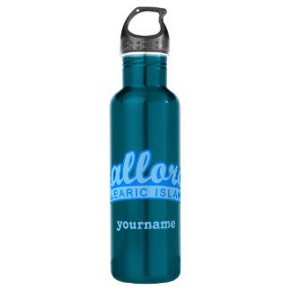 MALLORCA Spain custom monogram water bottle