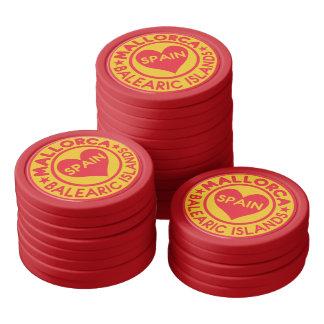 Mallorca Spain custom poker chips