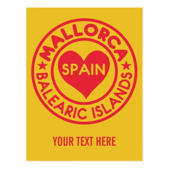 MALLORCA Spain custom postcard