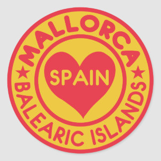 Mallorca Spain stickers