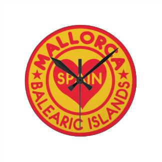 MALLORCA Spain wall clock