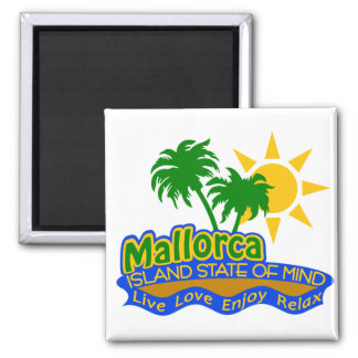 Mallorca State of Mind magnet