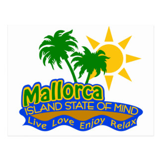 Mallorca State of Mind postcard