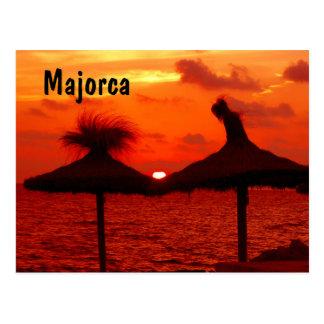 Mallorca Sunset - Postcard