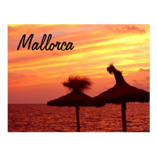 Mallorca Sunset - Postcard