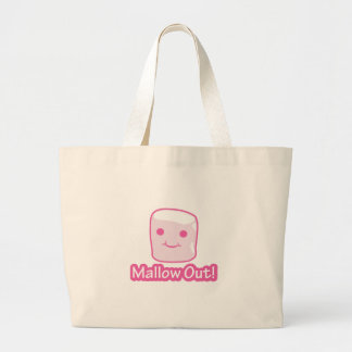 Mallow Out! Large Tote Bag