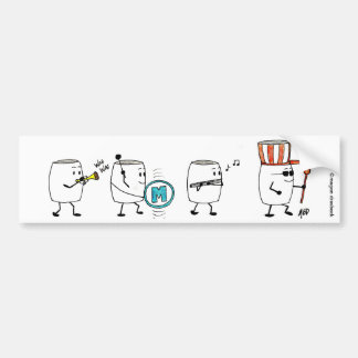 Mallow Parade Bumper Sticker
