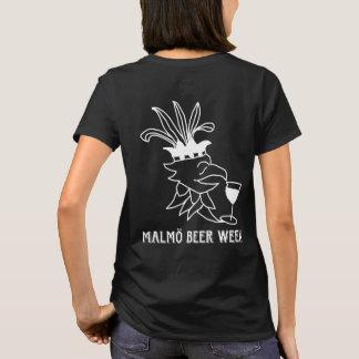 Malmö Beer Week t-shirt lady