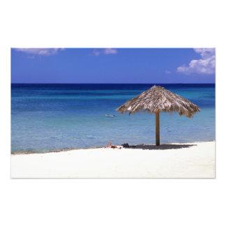 Malmok Beach, Aruba, Netherlands Antilles Photo Print