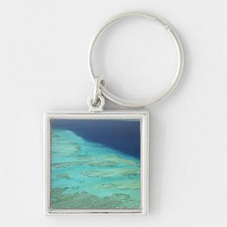 Malolo Barrier Reef off Malolo Island, Fiji 2 Key Ring