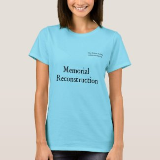 Malone Society Memorial Reconstruction Light T-Shirt
