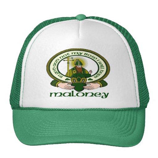 Maloney Clan Motto Cap Trucker Hat