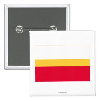 Małopolskie - Lesser Poland Flag 15 Cm Square Badge