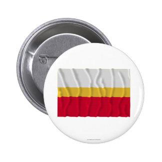Małopolskie - Lesser Poland waving flag 6 Cm Round Badge