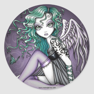 Malory Violet Tattoo Angel Stickers