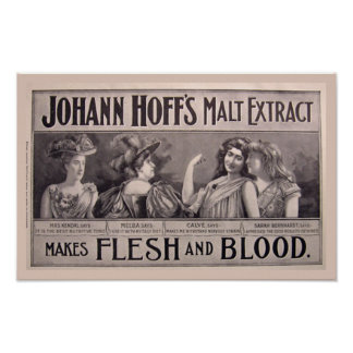 Malt Extract Health Poster
