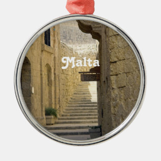 Malta Alleys Christmas Ornament