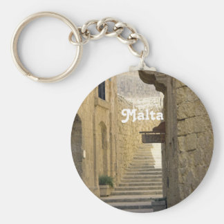 Malta Alleys Key Ring
