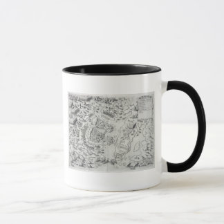 Malta besieged by the Infidel, from 'Della Archite Mug